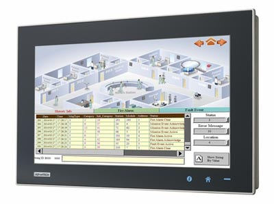 Panel PC wide multitouch