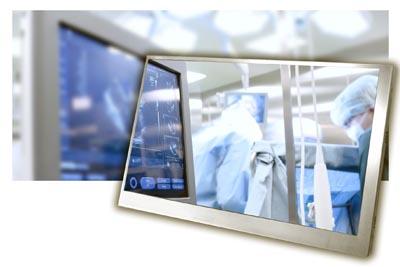 Displays para sistemas médicos
