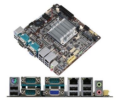 Tarjetas mini-ITX para kioscos