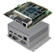 PC embebido modular QSys con Intel Atom E38xx Qseven module conga-QA3