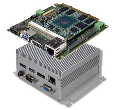 PC embebido con módulos estándares