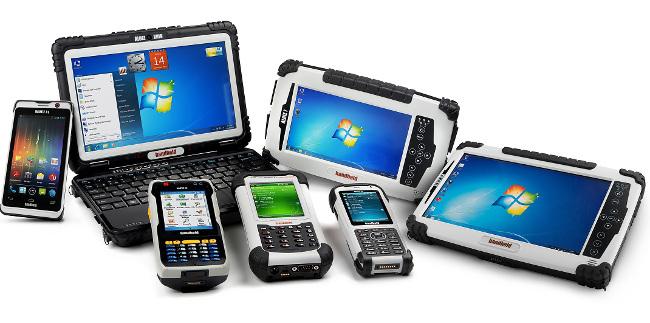 Dispositivos móviles rugerizados