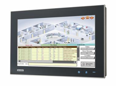 Panel PC panorámico multitoque