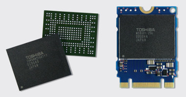 SSD PCI Express en single package