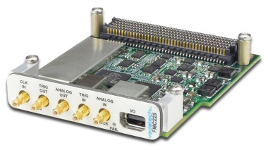 Placa FPGA con conversores A/D y D/A