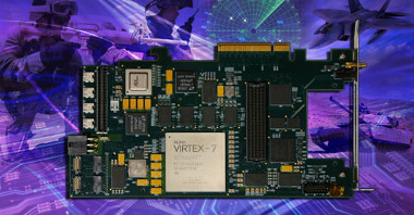 Carrier FMC PCIe con interface óptico