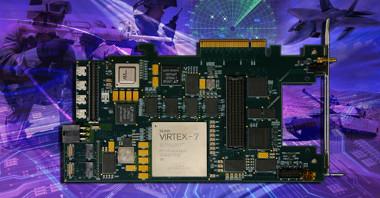 Carrier FMC PCIe con interface óptico