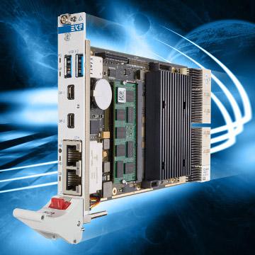 Ordenador Core i7 en formato CompactPCI