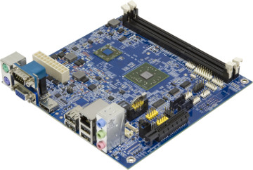 Placa Mini-ITX para aplicaciones multimedia