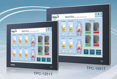 Ordenadores industriales de pantalla táctil