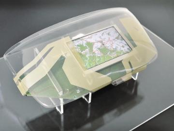 Panel 3D multi-toque para automoción