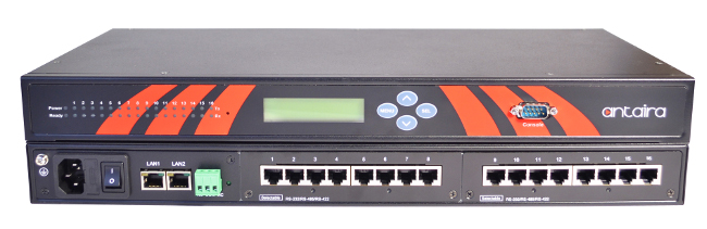servidores industriales serie a Ethernet