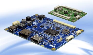 Placa controladora de display TFT con eDP