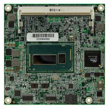 COM Express Compact con Intel Core i7