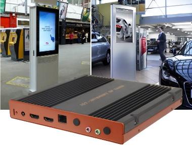 Box PC para cartelería digital