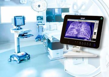 Panel PC para usos médicos
