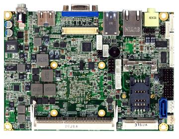 Placa CPU para proyectos embebidos