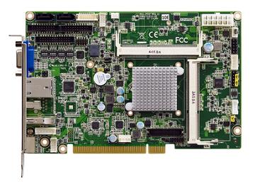 Tarjeta CPU industrial PCI con Intel Celeron