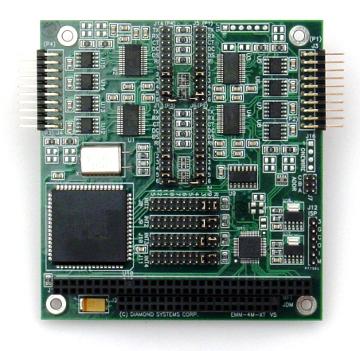 Módulo serie de cuatro puertos RS-232/422/485