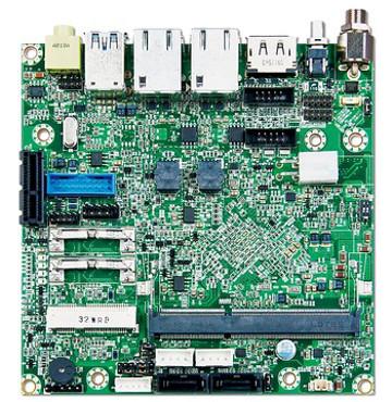Placa Nano-ITX para sistemas robustos