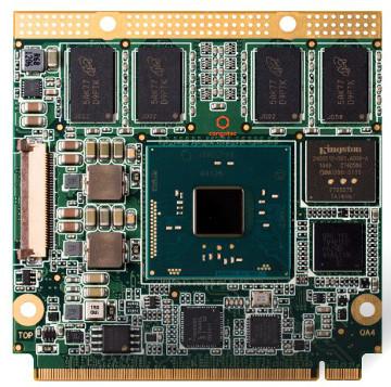 Módulo Qseven Intel Pentium quad-core con 4K