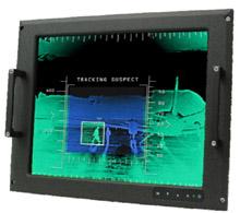 Monitor LCD para aplicaciones militares e industriales