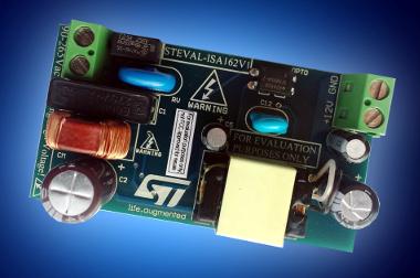 Tarjeta de evaluación con convertidor de elevada tensión