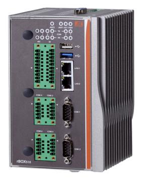 Box PC de carril DIN con certificación ATEX y C1D2