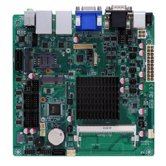 Placa madre Mini-ITX industrial quad-core