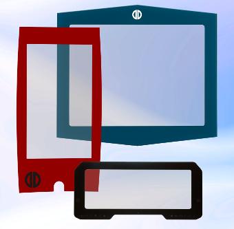 Displays con pantalla táctil PCAP a medida