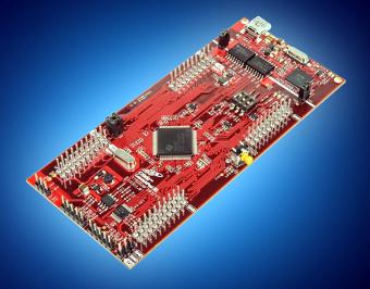 Kit de evaluación de microcontroladores