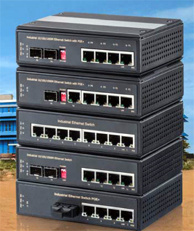 Switches Gigabit Ethernet para aplicaciones industriales