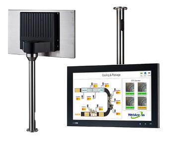 Panel PC con protección IP69K