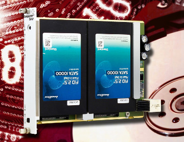Tarjeta CompactPCI Serie 3U para discos duros