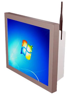 Panel PC con frontal inox IP65