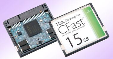Discos SSD rápidos en formato CFast