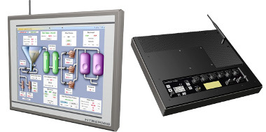 Panel PC de acero inoxidable IP65