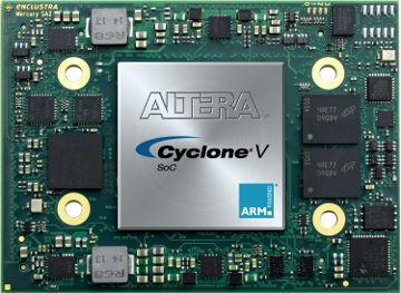 Módulo compacto con CPU ARM