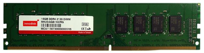 Memorias DDR4 para aplicación industrial