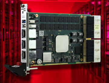 Placa CompactPCI con procesador