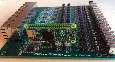 Placa de clúster para Raspberry Pi Zero