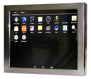PC en panel táctil con Android