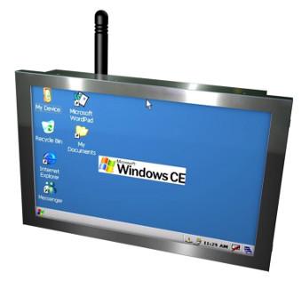 Panel PC táctil con procesador ARM
