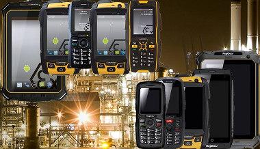 Terminales móviles para zonas ATEX