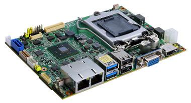 Placa embebida CPU con socket Intel
