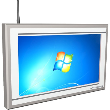 Panel PC full HD de acero inoxidable