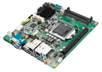 Placa madre Mini-ITX de 12 a 24 VDC