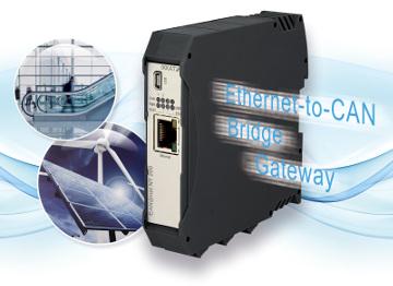 Pasarela CAN a Ethernet multifuncional