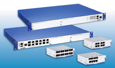 Switch Gigabit para redes industriales