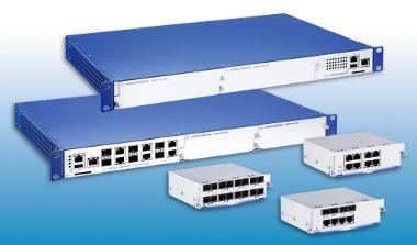 Switch Gigabit para redes industriales